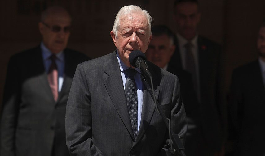 Jimmy Carter Supports Donald Trump Policy Banning Muslims