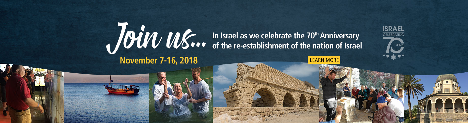 Join Us In Israel